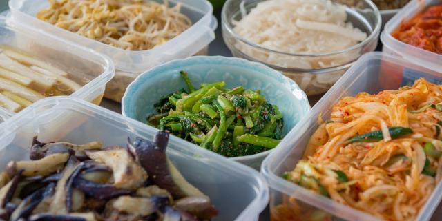 家庭の韓国料理